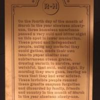 Sign 6- Homelessness: Forgotten Histories, obverse side