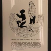 Sign 32- Forlorn Hope/ Debtor's Jail, obverse side