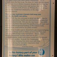 Sign 27- Epidemics, reverse side