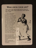 Sign 17- Who Owns Your Life?: Insurance and National Healthcare, obverse side